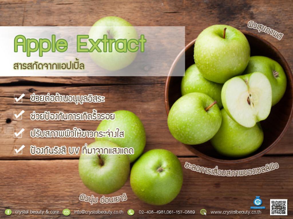 ข่าวสารและกิจกรรม Apple Extract สารสกัดจากแอปเปิ้ล